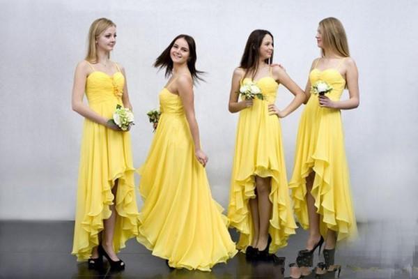 sarı elbise modeli